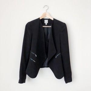 Halogen black blazer